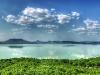 A Balaton és az északi part Fonyódról